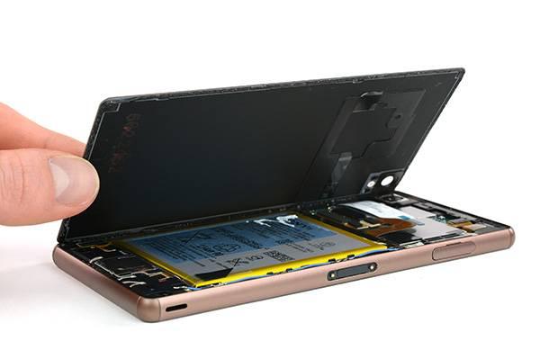 Sony mobil szerviz - hátlap csere