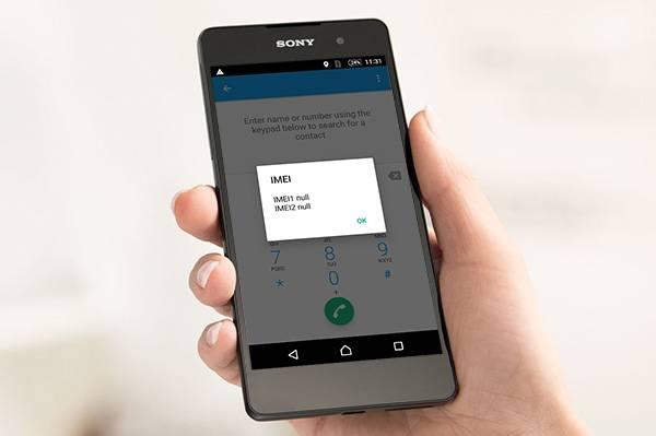 Sony mobil szerviz - IMEI szám javítás