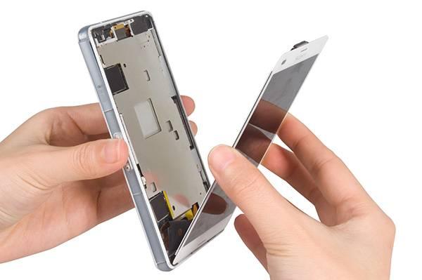 Sony mobil szerviz - kijelző csere