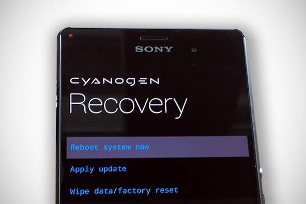 Sony mobil szerviz - újratelepítés
